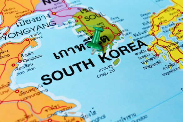 South Korean Map, They are Having a Feminist Backlash