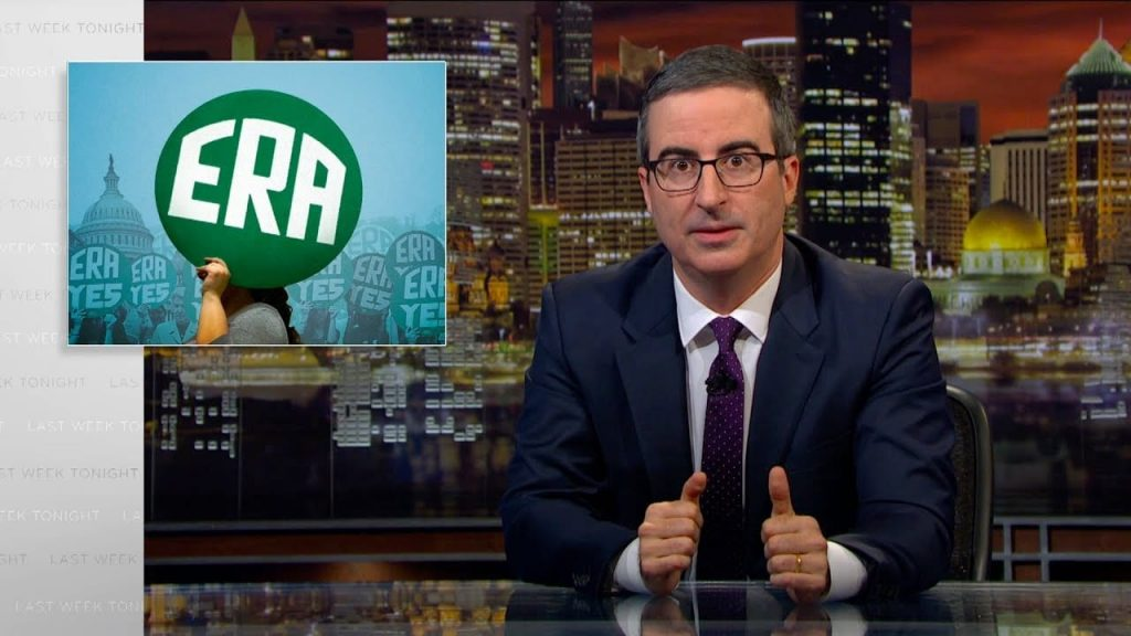 John Oliver explains the ERA