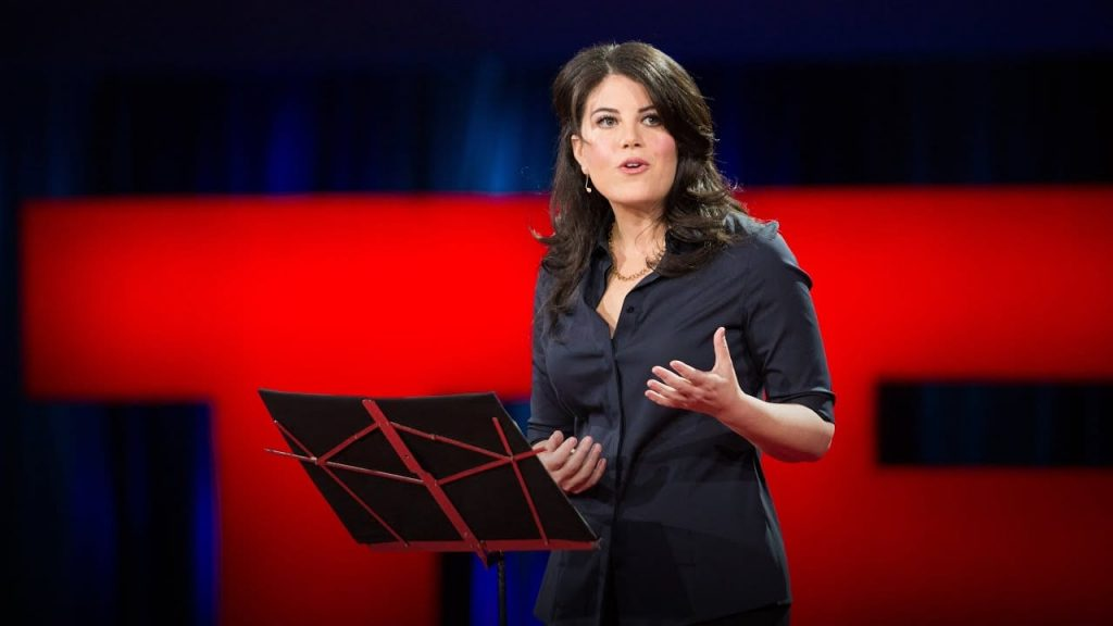 Monica Lewinsky talks feminism and fame